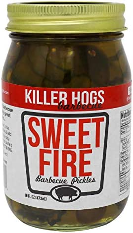 Killer Hogs Sweet Fire Pickles Always Crisp Pickles with Sweet and Spicy Heat Great with BBQs product image