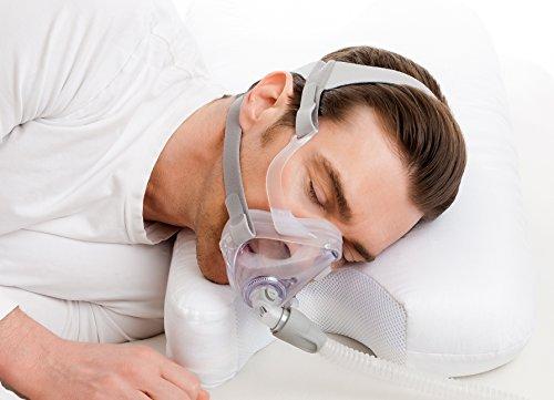 Best in Rest - Almohada de Espuma viscoelástica para CPAP (con Aroma a Hierbas)