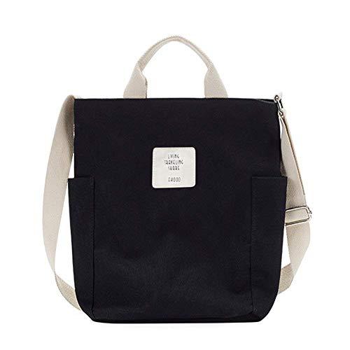 Yidarton Women Canvas Tote Bag Shopping Handbag Shoulder Cross Body Bag...