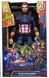 Super Hero Toys Avenge Figures for Kids Birthday Gift By PRIME TECH ™ (Captain)