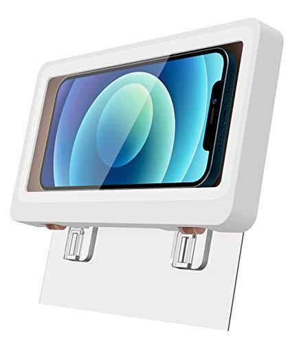TiMOVO Dusch Handy Ständer, Wasserdicht Handyhalterung Box Kompatibel mit 6.8