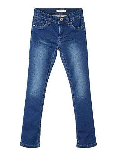 NAME IT Boy Jeans X-Slim Fit Sweatdenim 116Dark Blue Denim