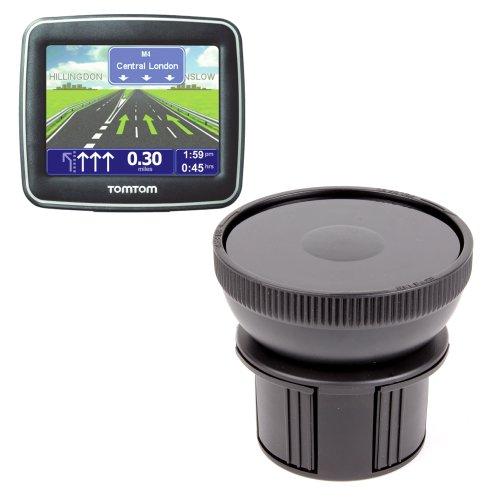 DURAGADGET Fixation Support Porte-gobelet Voiture pour GPS Tomtom XL Classic France, Tomtom Start 60 M & 25 M, Via Live 120, Urban Rider