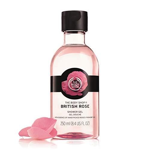 The Body Shop British Rose Petal Soft Shower Gel, 8.4 fl. oz.