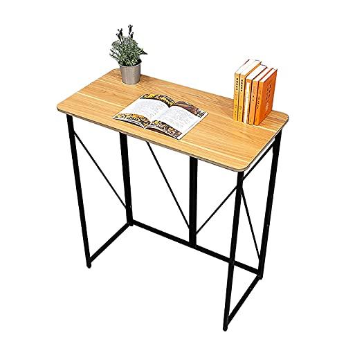 Escritorios Escritorio de computadora, escritorio de oficina en casa de escritura de 39.4 pulgadas, estación de trabajo de mesa plegable para oficina / estudio / dormitorio, fácil de montar, ahorro de