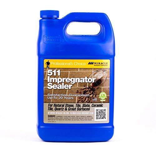 Miracle Sealants 511GAL4 511 Impregnator Sealer, Gallon, Clear