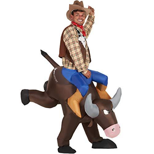 Morph Yee Haw Inflatable Bucking Bronco Rodeo Bull...
