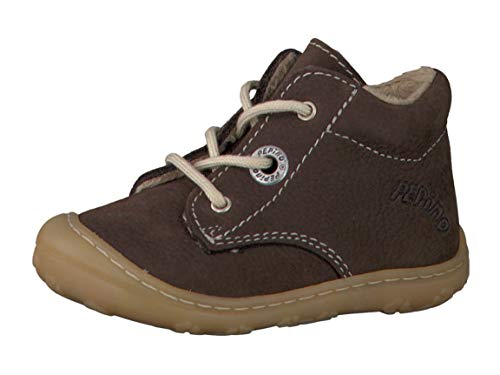 RICOSTA Pepino by Unisex - Kinder Winterstiefel CORANY, WMS: Weit, Spielen Freizeit leger Winter-Boots Outdoor-Kinderschuhe warm,Marone,21 EU / 5 UK
