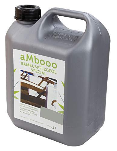Pflegeöl für Bambus Terrassendielen - Granite Grey