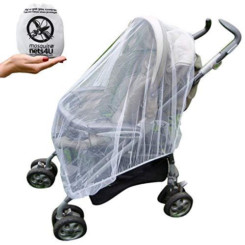Trop dense Baby Buggy Moustique Couverture pour poussette poussette anti insecte cover