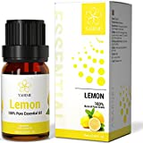 ASAKUKI Lemon Essential Oils for Diffusers, Home, Candle&Soap Making-100% Natural Aromatherapy Oil for Skin Care, Stress Relief&Mind Calming with Sweet Perfume-10ml(1/3 oz)