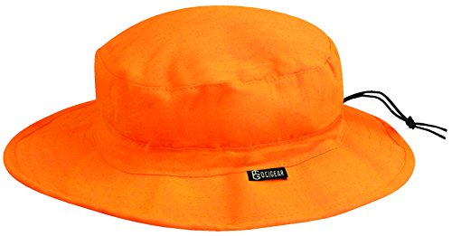 Outdoor Cap Water Defense Boonie Hat, Blaze Orange, One Size