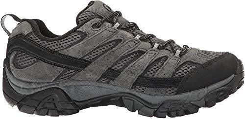 Merrell Men's Moab 2 Waterproof Hiking Shoe, Granite, 10 2E US