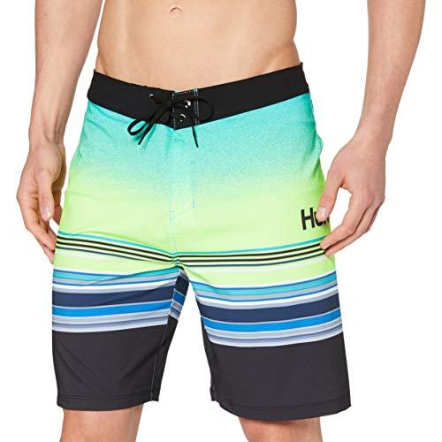 Hurley Herren M Phtm Spectrum 20' Board Shorts Mehrfarbig (Ghost Green), Gr 31
