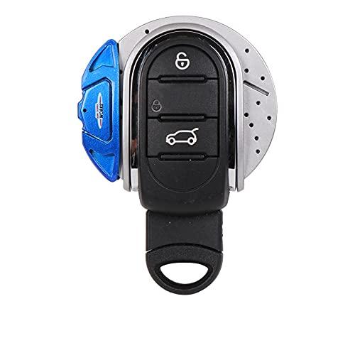 YWhjklb Funda Protectora de la Caja del Llavero del Ajuste de la Carcasa del Llavero del Bolso de la Llave del Coche, para Mini Cooper S JCW One F54 F55 F56 F57 F60 Accesorios del Coche