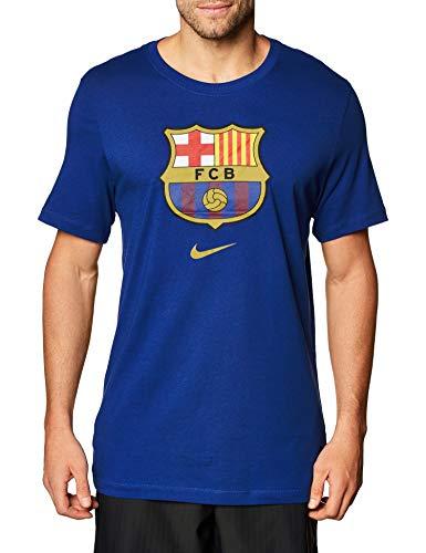 NIKE FC Barcelona Temporada 2020/21-FCB M NK tee Evergreen CRST 2CD3115-455 Camiseta,...