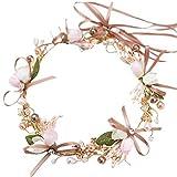 OUTANG Haarband mädchen Haarband Hochzeit Haarschmuck für Mädchen für Frauen Silber Haarschmuck Tiara Kopfbedeckung Hochzeit Haarschmuck