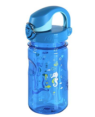 Nalgene Kinder Trinkflasche Everyday OTF, Blau, 0.375 Liter