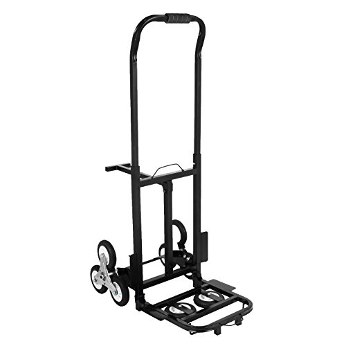 Happybuy Stair Climbing Cart 45 Inches Portable Hand Truck...