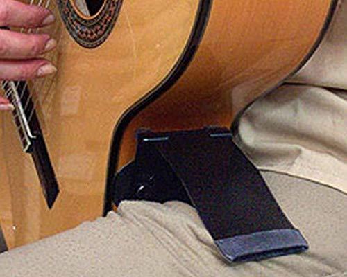 NEW 'Gitano Ergoplay' con TRIPLE VENTOSA. Soporte para guitarra clásica y flamenca. NUEVO 2020