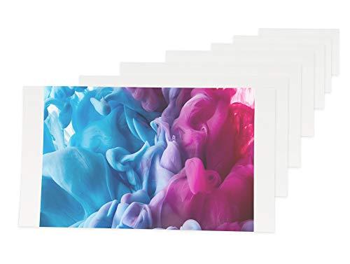 Carta fotografica - 108 stampe formato cartolina - 100mm x 148mm - compatibile con Canon Selphy CP780 CP790 CP800 CP810 CP910 CP1000 CP1200 CP1300 CP Serie Stampanti Fotografica