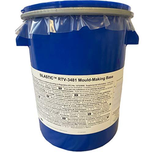 Silicona Silastic RTV 3481 para moldear con catalizador 3081 (1 kg)