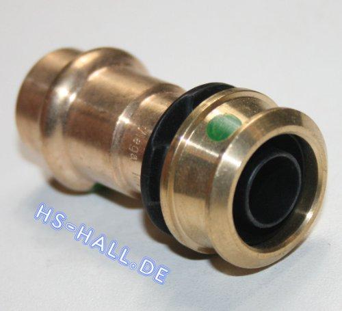 Viega Raxofix Übergang 16 x 15 mm Sanpress Cu Inox