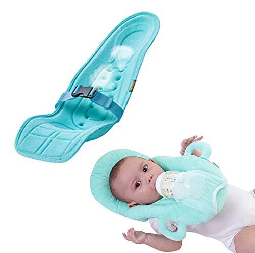 Baby GOUO@ Coussin d'allaitement bébé Anti-cracher du Lait Renversement du Lait Pente de Lait Pad Tenir Ceinture Nouveau-né Ceinture couché Horizontal câlin Support Pad