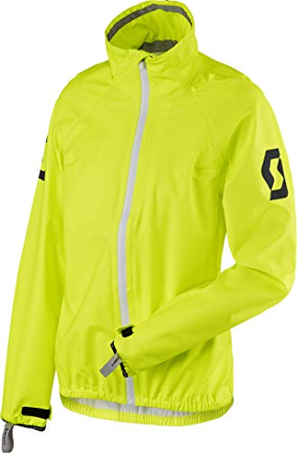 Scott Ergonomic Pro DP Damen Motorrad/Fahrrad Regenjacke gelb 2020: Größe: 46