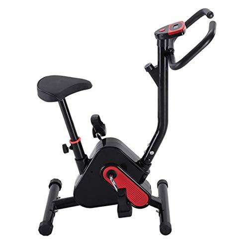 YLJYJ Bicicleta estacionaria para Ejercicio en Bicicleta con Monitor LCD Cardio Fitness Machine (Deportes)