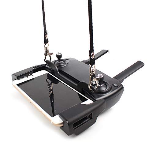 Bascar Fernbedienungs Signal Verstärker Mit Schlüsselband Handyhalterung Umhängeband Extender A-Verstärker Antennenbereich Booster Kompatibel mit DJI Mavic Mini/Mavic Pro/Mavic Air/Spark Drone