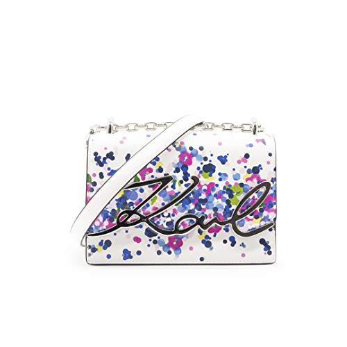 KARL LAGERFELD 205W3046 K/Signature Floral Sac à bandoulière avec signature