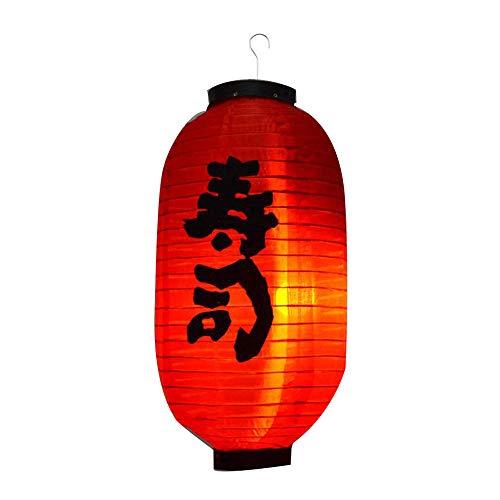 Loriver 10 in wasserdichter japanischer Chochin-Laternen-Restaurant-Zeichen-Lampenschirm-Dekoration