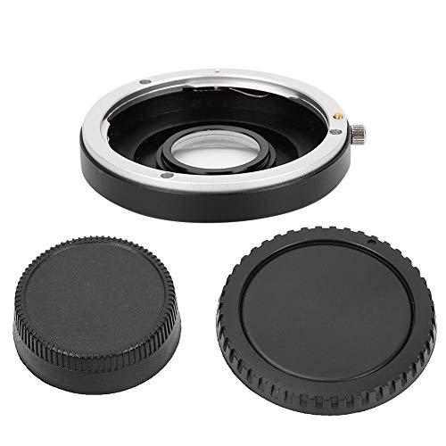 Sxhlseller Anillo Adaptador de Lente de Enfoque Manual EF-AI de Alta Resistencia portátil para Lente Canon EOS para Adaptarse a la cámara SLR Nikon AI F Mount