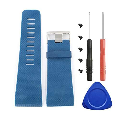 For Fitbit Surge Bands, T-BLUER Cintas de silicona de repuesto para Fitbit Surge Watch Fitness Rastreador de pulsera de reloj Accesorios para pulsera
