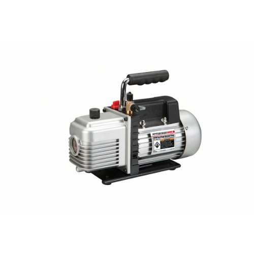 3 CFM 1/4 HP Two Stage Vacuum Pump Automotive Air Conditioning
