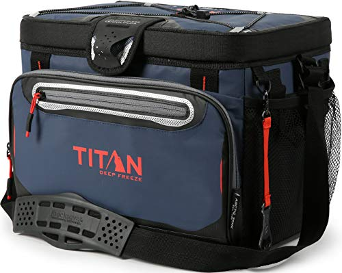 Arctic Zone Titan Deep Freeze 30 Can Zipperless Cooler, Blue