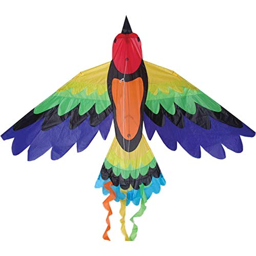 Premier Kites Rainbow Bird Kite are Great Kites for Adults and Easy to Fly Kites for Kids   A Large Kite with a 70 Inch Wingspan and a 36 Inch Body with Bold Colors and Detailed Applique Work