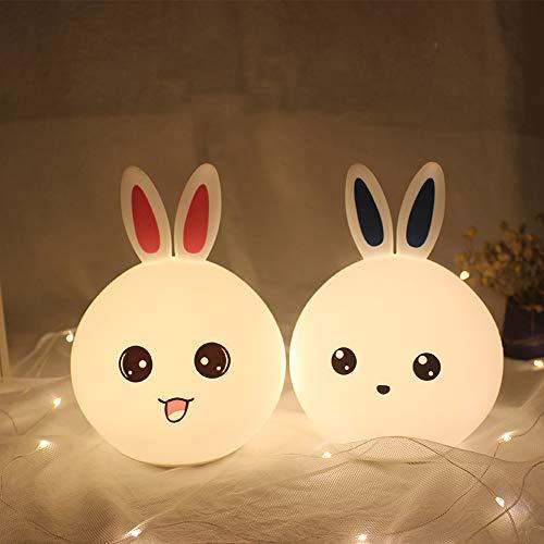 missjj Luce Notte Bambini con sensore di Movimento per Bambini Luce USB Ricaricabile Ideale per Regalo di Compleanno da Camera da Letto