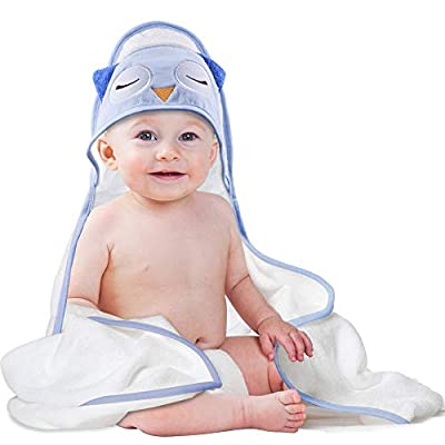 Baby Hooded Towel, Extra Soft Hooded Towels for...