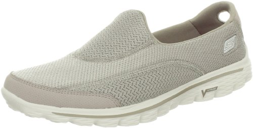 Skechers GO Walk 2, Damen Sneakers, Beige, 40 EU