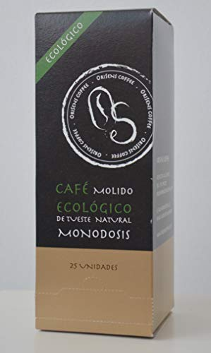 Café ecológico en monodosis de formato ESE - 25 unidades
