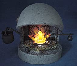 Cominica Image Collection XI - Howl's Moving Castle: Calcifer Fireplace Set by Yamato