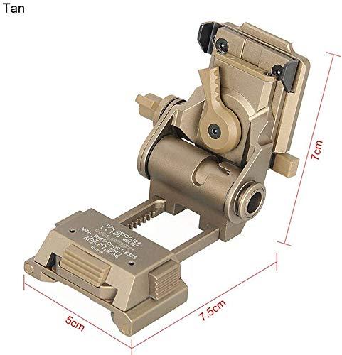 Changli CNC PVS15 / 18 Nachtsichtbrillenhalterung für L4G24 NVG Metallhelmhalterung, Sandfarben