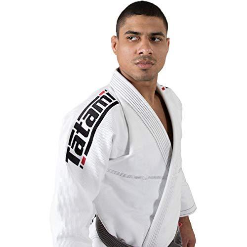 Tatami Fightwear - Estilo 6.0 BJJ - Kimono para Hombre, Blanco/Negro, A0