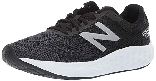 New Balance Men's Rise V1 Cushioning Running Shoe, Black/White, 10 D US