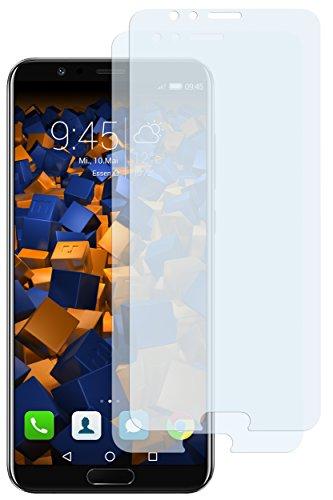 Schutzfolie kompatibel mit Huawei Honor View 10 Folie klar, Displayschutzfolie (2X)