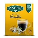 Cafés Baqué - Vainilla 10 Cápsulas Compatibles con Dolce Gusto ®