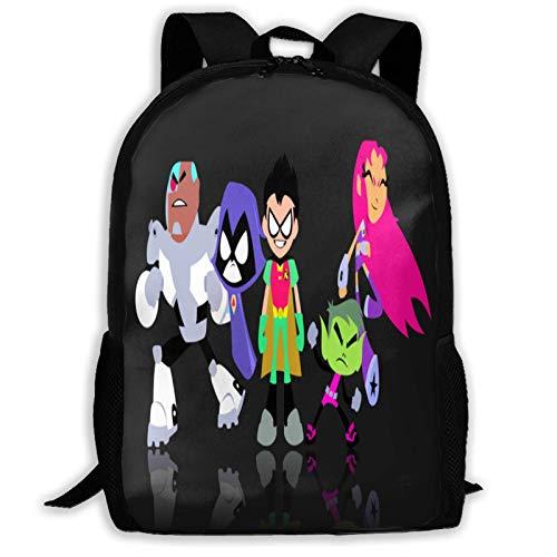 Hdadwy Te-en Ti-ta_ns Go mochila ligera impresión 3D lindo niños niñas niños viaje mochila para mujeres