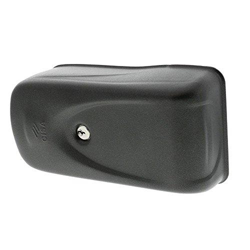CISA 11505-10 Serratura Elettrica per Cancello 1A721, Entrata Ambidestro, 50-80 mm, 12 V, Grigio, Senza pulsante